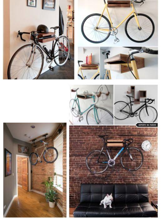 Como guardar sua Bike, Patins, Skate…e deixar sua casa linda! Gastando pouco !
