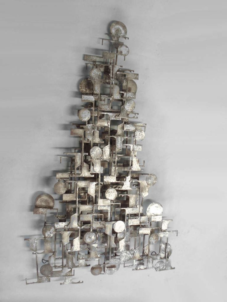 Brutalist Industrial Wall Sculpture | From a unique collection of antique and modern wall-mounted sculptures at http://www.1stdibs.com/furniture/wall-decorations/wall-mounted-sculptures/
