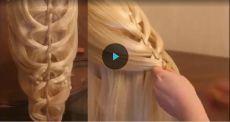 Подборка уроков - Необычные причёски - 2