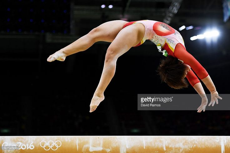 Mai Murakami of Japan competes on the balance beam during Women's qualification for Artistic Gymnastics on Day 2 of the Rio 2016 Olympic Games at the Rio Olympic Arena on August 7, 2016 in Rio de Janeiro, Brazil