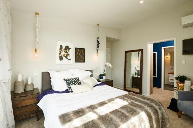 Jo and Damo's Master Bedroom The Block NZ 2014
