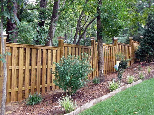 Backyard Wood Fence Ideas 60 gorgeous fence ideas and designs Google Image Result For Httpwwwcarpentersfencingcomimages Shadow Box Fencepool Ideasbackyard Ideasoutdoor Ideasfence Designprivacy Fencesfence