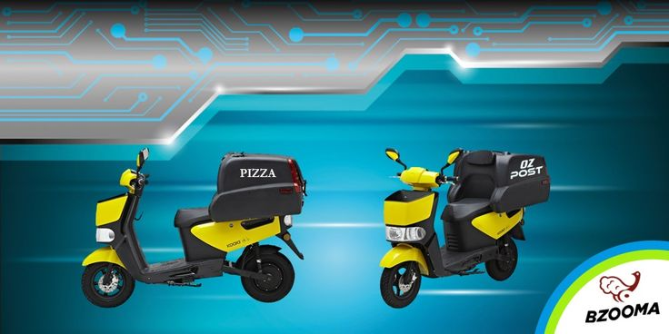 Bzooma 'Busy' is a stout and practical delivery system which can zip your packages and documents around town with efficiency, reliability and STYLE.