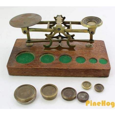 For Sale: Antique Postal Scales by S. Mordan & Co. London Scale