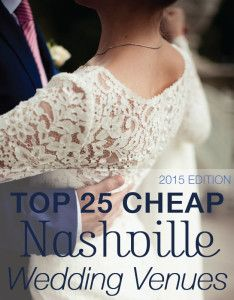 I've had a couple of friends ask me about best (cheap) places to have a wedding in Nashville, so I thought I'd share the information here. Some of these venues aren't cheap, per se, but are a good value when you factor in what's included.