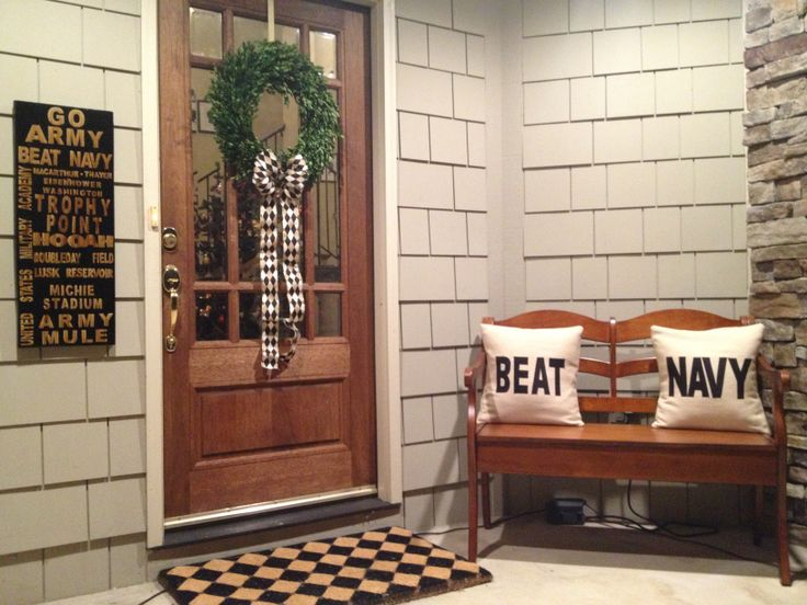 Go Army Beat Navy Home Decor Football Game Annual Party Team Spirit