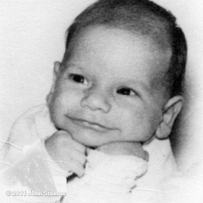 John Stamos.  OMG, what an adorable baby picture.