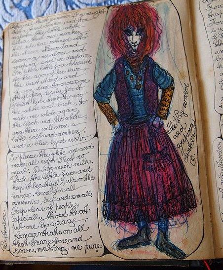 vali myers' journal