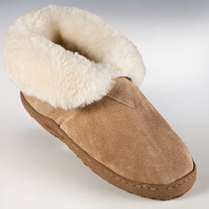 Old Friend Womens and Mens Bootee Slippers
