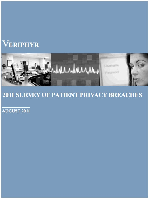 According to a survey on Protected Health Information (PHI) privacy breaches, more than 70 percent of the organizations in the study have suffered one or more breaches of PHI within the last 12 months.     Insiders were responsible for the majority of breaches, with 35 percent snooping into medical records of fellow employees and 27 percent accessing records of friends and relatives.
