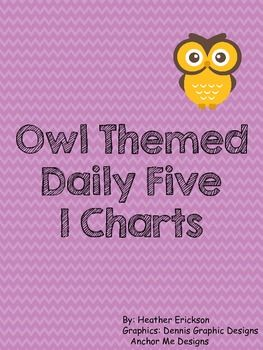 Owl Themes Daily 5 I Chart
