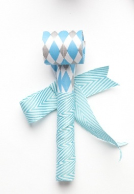 non floral boutonniere option      ---simplywed.com