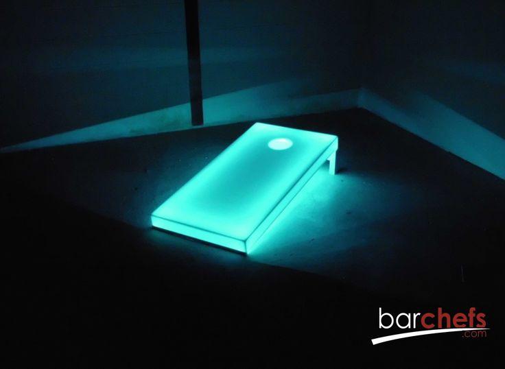 Regulation LED Lighted Cornhole Boards | Regulation 2 Board Set