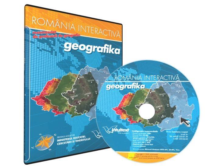 """Geografika  cuprinde zeci de hărĹŁi interactive, noĹŁiuni  teoretice, jocuri, puzzle-uri, sute de teste, toate pentru o pregătire  excelentă a tezelor cu subiect unic la geografie.     FuncĹŁionalitaĹŁi:   Suprapune hărĹŁile Compară două zone Detalii geografice inedite Notează pe hartă! Motor de căutare Teste Interactive Jocuri Geografika """"Ştiaţi că"""", legende, fotografii   Geografika România Interactivă   este primul produs care transformă reţinerea mecanică a noţiunilor  teoretice de…"""