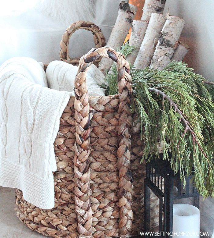Best 25+ Rustic Winter Decor Ideas On Pinterest