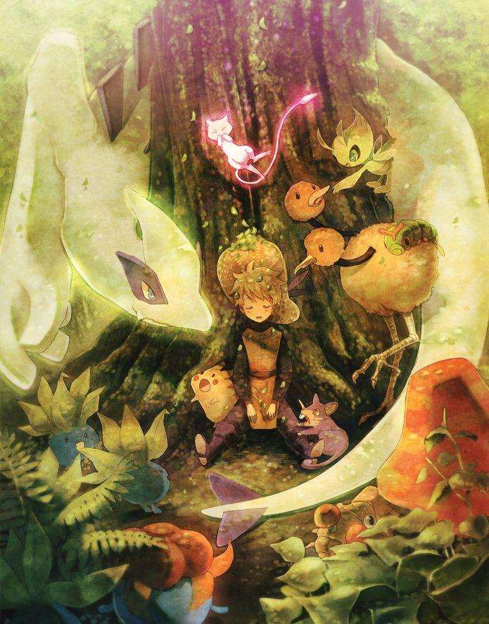 Pokemon:: Forest by *kissai on deviantART