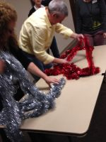 The Tinsel Game is perfect for kids or adults!  Play it at your next party or in Sunday School.