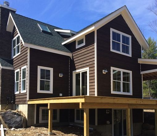Cordovan Brown, Solid Stain #siding