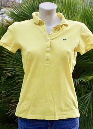 Fluo Homme Lacoste Lacoste Jaune Polo Polo rodBCeWx
