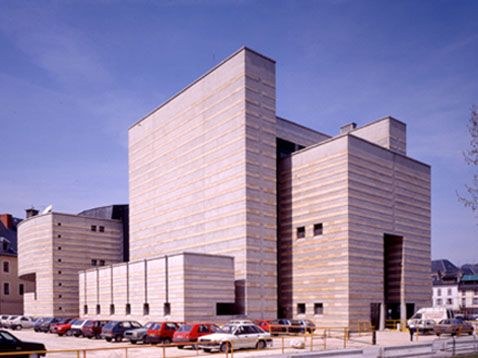 Cultural Center, Chambéry France (1982-87) | Mario Botta