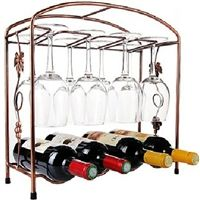Grape Fence Farm Style Wine Glass Wine Holder Rack