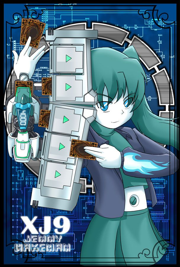 JENNY YuGiOh cards sleeves by shadow2007x