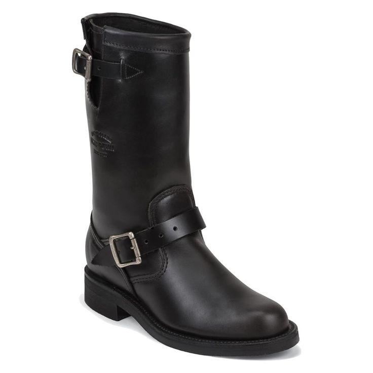 "Women's Chippewa Boots 11"" Original Engineers @ WorkBoots.com"