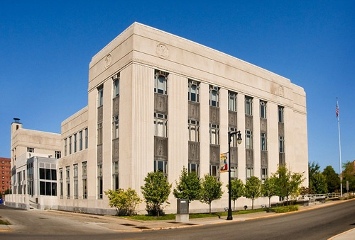 1932 Federal Building, Terre Haute, IN (photo: Indiana State University)