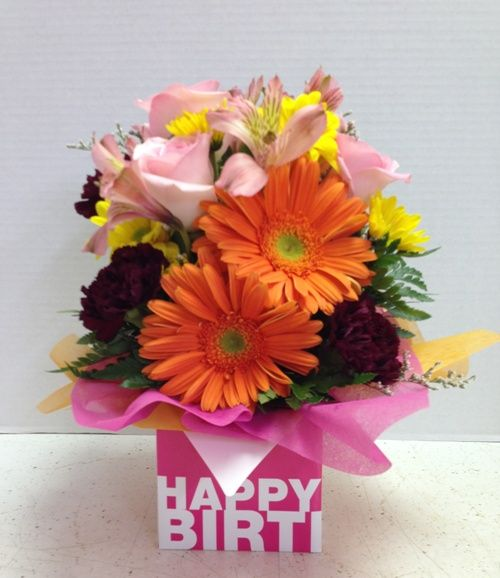 73 Best Happy Birthday Flowers & Gift Baskets Images On