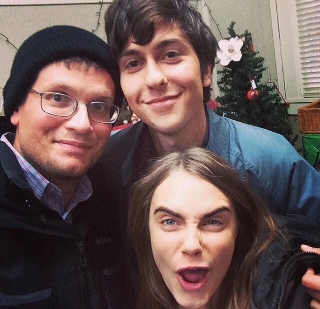 Paper towns cast ❤️❤️❤️ on We Heart It