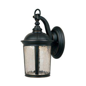 Designeru0027s Fountain Winston 13.75 In H Aged Bronze Patina Outdoor Wall  Light LED21321 ABP