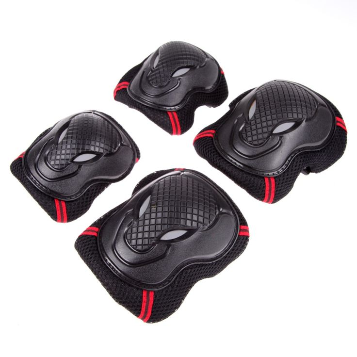 Skating Skateboard protective patins Set Knee Pads Elbow Pads Wrist Protector Protection for Scooter Cycling Roller Skating