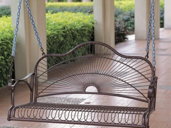Sun Ray Porch Swing - Bronze delivered for only $167.95