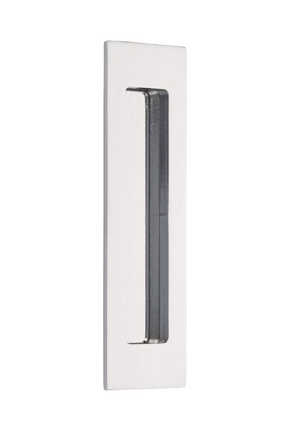 Flush Pull Modern Br Rectangular 7 Contemporary Lock Sets Door Accessories Emtek Products Inc Pierres Closet Pocket
