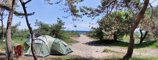 """Campingplatz, Ferienhäuser und Wohnwagen im Norden der Insel Rügen ‹ Camping an der Ostsee – Camping auf Rügen – Campingplatz """"Drewoldke"""""""