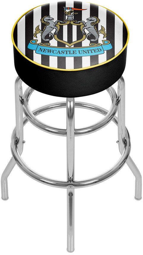 Kohl's Newcastle United FC Swiveling Chrome Bar Stool