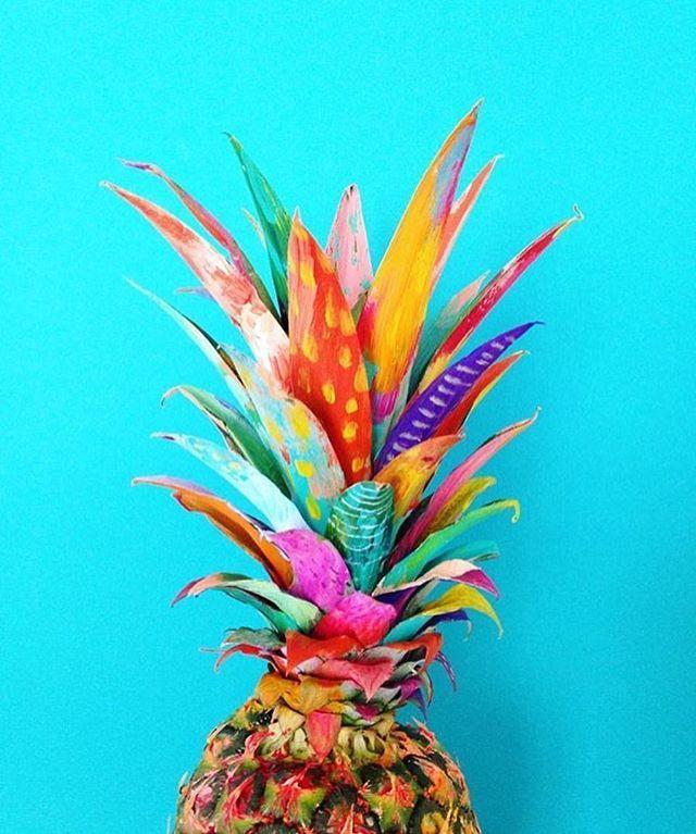 Piña Artiste: @mattcrump #art #painting #theartkollection