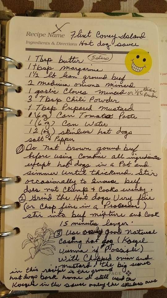 Angelo S Coney Island Sauce Recipe