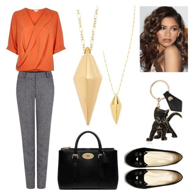 Oranges in february by rosehage on Polyvore featuring polyvore, fashion, style, Pink Tartan, Mulberry, Rebecca Minkoff, Vivienne Westwood, Coleman, women's clothing, women's fashion, women, female, woman, misses and juniors