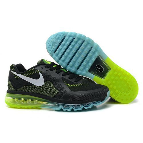 nike air max 2014 blue and yellow
