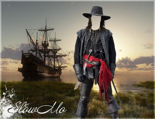 Шаблон пиратская шляпа для фотошопа