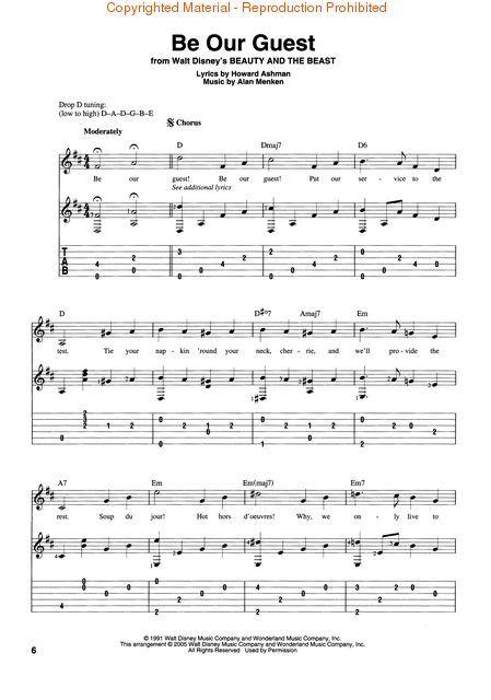 Simplicity image inside free printable disney sheet music