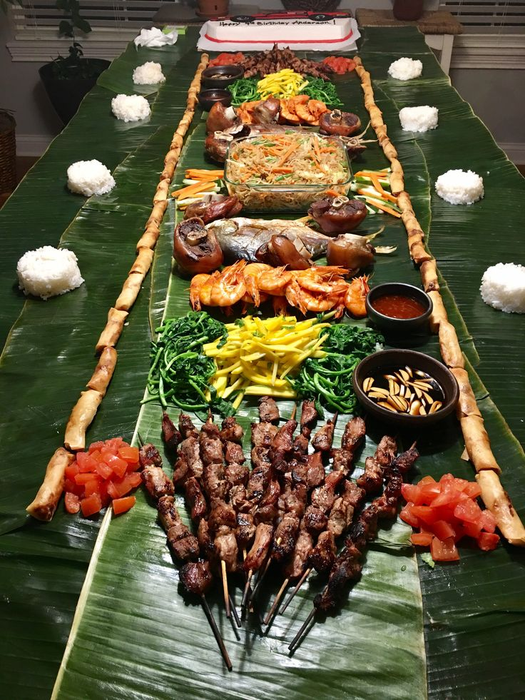 Boodle Fight Marc 2017 A Filipino Way Of Eating Based On