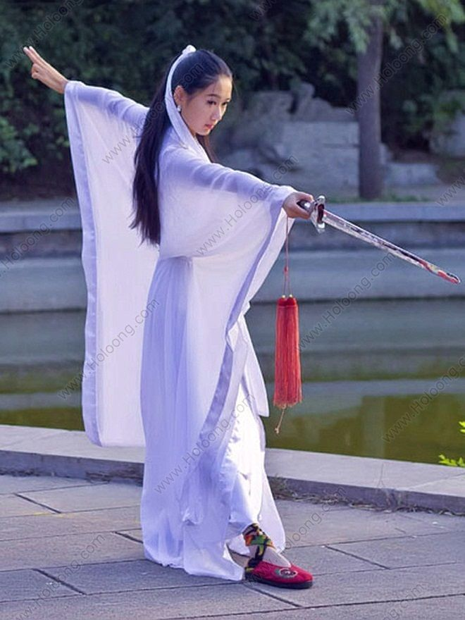 women in kung fu | http://www.holoong.com/Women-s-White-Kung-fu-Fairy-Movie-Costumes_5058 ...