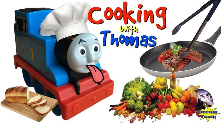 TRAINS FOR CHILDREN VIDEO Hungry Thomas and Friends Thomas the Train Coo...