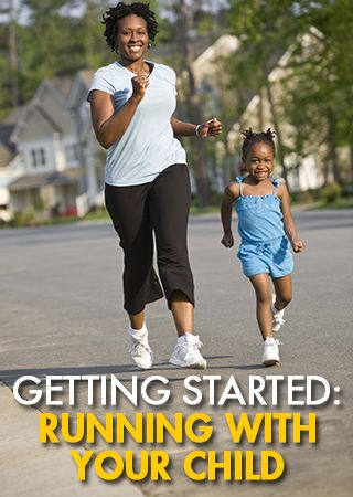 Great tips for getting started running with your kids - even if you're not already a runner yourself!