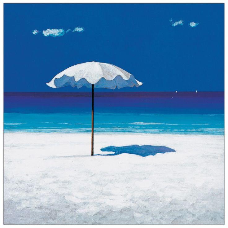 MONDELLI - Ombrellone nel blu 40x40 cm #artprints #interior #design #Degas #art #prints  Scopri Descrizione e Prezzo http://www.artopweb.com/EC16878