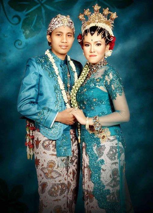 pengantin adat jawa, Javanese wedding