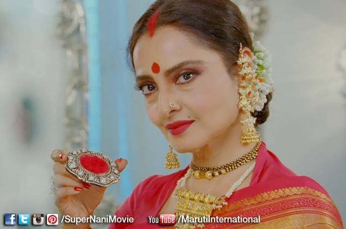 Don't you think this goddess beauty makes the best Nani in the world? #SuperNani