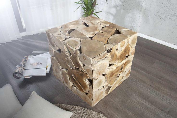 Konferenčné stoly : Stolík Wodden Cube
